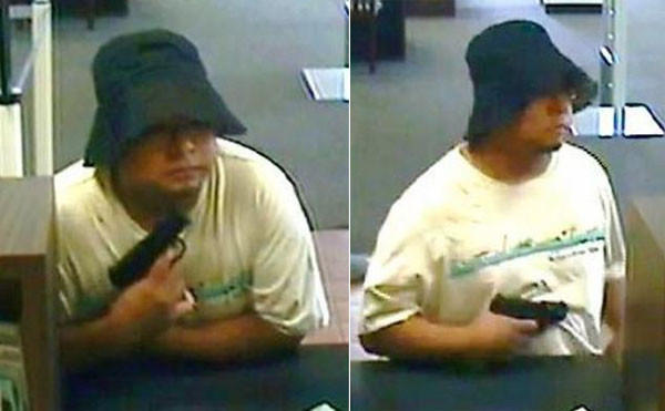 GPS leads authorities to bank robber in less than half an hour