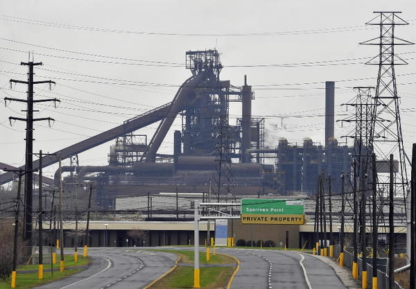 R G Steel Sparrows Point Court clears Sp...