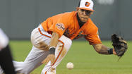 Orioles second baseman Robert Andino to miss three or four weeks with shoulder injury