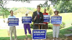 Congressional candidate lays out plan for Virginia families