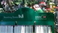 "While on vacation last week, I stumbled on one of the most pleasant library settings imaginable: <a href=""http://www.bryantpark.org/"" target=""_blank"">Bryant Park</a>, swath of green behind the main branch of the <a href=""http://www.nypl.org/"" target=""_blank"">New York Public Library</a>."