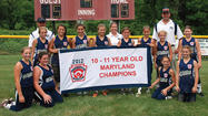 Sharpsburg 10-11 Softball State Champs