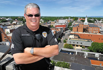 Hagerstown Police Sgt. Kevin Simmers retired June 15 after 25 years of service.