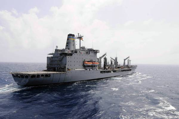 The Rappahannock, which refuels warships, had just passed through the Strait of Hormuz when a fishing boat started to approach it. The supply ship fired on the craft, killing one and injuring three.