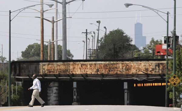 The Englewood Flyover project is intended to relieve commuter and freight rail congestion in the area, which the U.S. Department of Transportation calls one of the worst bottlenecks in the country.