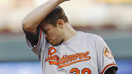 <strong>MINNEAPOLIS</strong>– Chris Tillman's supposed rebirth didn't hit a snag Monday night in Minnesota. It derailed in a horrible way.