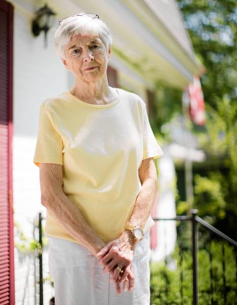 Katie Flanagan, 83, was frustrated because her phone often would ring only once, then a message would come on saying she wasn't accepting the call, and it would disconnect.