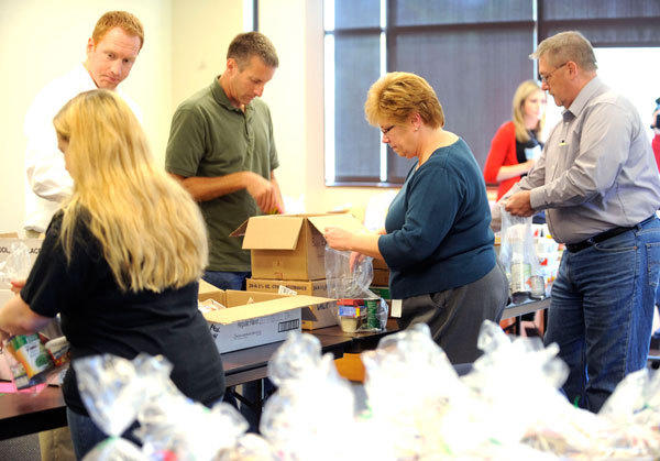 After debate, Lehigh County officials agreed to disburse federal funds to agencies such as Lehigh County Meals on Wheels (shown here) that prepare and deliver food to the elderly in their homes.