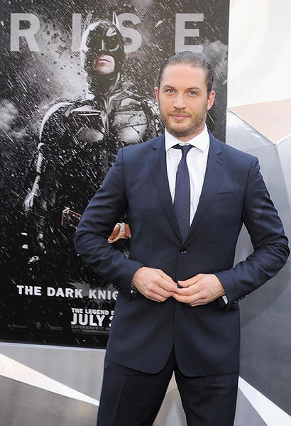 'Dark Knight Rises' premiere: Tom Hardy plays the villainous Bane in the film. /* Main div */ div.ent-tv-must-reads { width: 620px; margin-top: 15px; } /* Picks */ div.ent-pick { float: left; margin: 0px auto; width: 206px; } div.ent-pick img{ margin:3px 7px 2px 0px; height: 105px; width:187px; display: inline-block; float: left; } div.ent-pick a img { border: none; } div.ent-pick a { margin: 3px; } /* Headers */ div#content h2#title { margin: 3px 0px 0px 6px; width: 400px; } div#content h3#ent-hed { margin: 3px 0px 0px 6px; width: 200px; font-weight: 500; font-size: 13px; }  MORE ON DARK KNIGHT RISES:  PHOTOS: Tom Hardy, the next Brando?  VIDEO: Dark Knight Rises tracking is huge  ON SET: Nolan takes Batman to new place