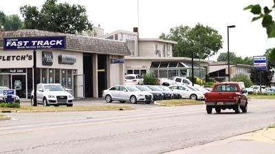 Fletch's of Petoskey is seen Monday afternoon. A complete rebuild of GMC/Buick and Audi showrooms and facilities is up before the Petoskey Planning Commission 7 p.m. Thursday, July 19.