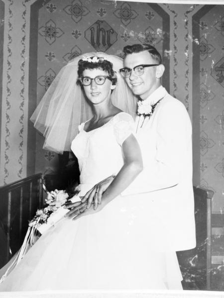 Mr. and Mrs. James Stamm, 1962
