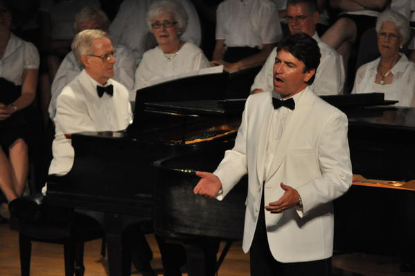 Tenor Jeff Picon, accompanied by Kelly Hale, is one of the artists featured at the A Night at the MET concert on Wednesday, July 18, in Bay View.