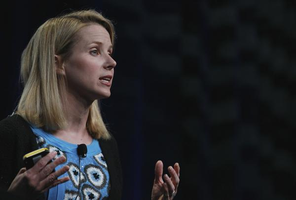 Marissa Mayer, shown in a file photo, was named Yahoo's new CEO July 16.