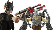Blockbuster movie toys: 'The Dark Knight Rises'
