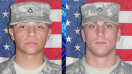 Two Indiana National Guard soldiers were killed in an attack that included rocket-propelled grenades and small arms fire in Afghanistan.