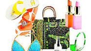 Photos: Beach bag chic