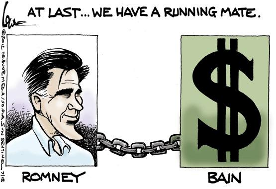 Mitt Romney, tax returns and Bain
