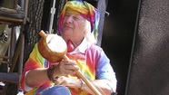 Wavy Gravy's main claim to fame is being the head of the Hog Farm hippie commune that served free food to the masses at Woodstock some 43 years ago (and still survives to this day).