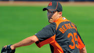 Orioles add right-hander Brad Bergesen to aid taxed bullpen