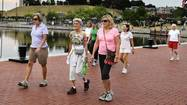 How we work out: Fells Point walking women