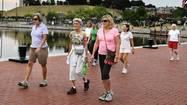 How we work out: Fells Point walking women