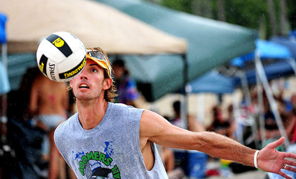 Steve Grotowski from Northeast (Oakland Park) Boynton Beach will compete in Beach Volleyball for Great Britain.