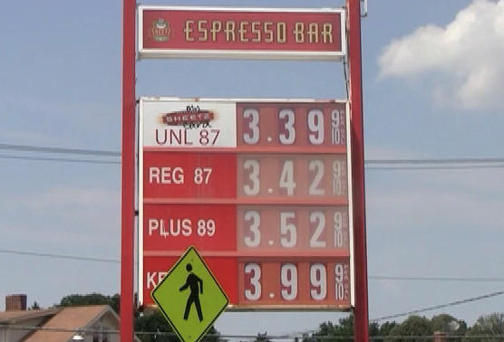 The Sheetz station at the intersection of Potomac Avenue and Fairground Avenue had the most expensive regular grade gas among the stations The Herald-Mail visited Tuesday.