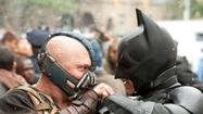Batman and Bane from 'The Dark Knight Rises'