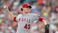 Angels pitcher Garrett Richards