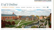The University of Illinois' initial free online courses attracted about 14,000 enrollments on the first day of registration, according to the company partnering with the university on the project.