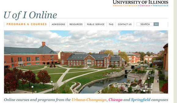 University of Illinois online classes site.