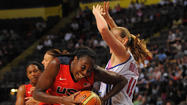 MANCHESTER, England -- The U.S. Olympic women's basketball team pulled away from Great Britain in the third quarter on their way to a 88-63 win in a pre-Olympic exhibition game on Wednesday.