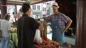 Green market offers locally grown, organic food in Lynchburg