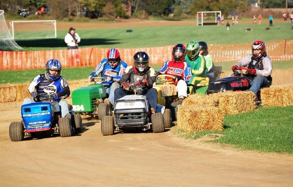 American Racing Mower Association members participate in a 2011 race. ARMA lawn mower races will be part of the Washington County Ag Expo & Fair at 7 p.m. Saturday, July 28.
