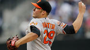 The Orioles have dropped the first two games of their four-game series against the Twins here in Minnesota, and now the team will turn to right-hander Tommy Hunter to end the slide.
