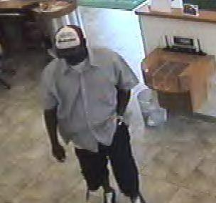 The FBI is searching for a robber who held up the Great Florida Bank in Plantation
