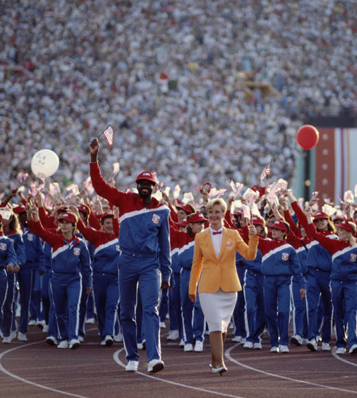 Olympic Games: Opening ceremonies throughout the years: Los Angeles