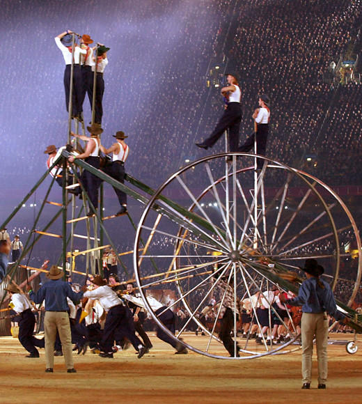 Olympic Games: Opening ceremonies throughout the years: Sydney