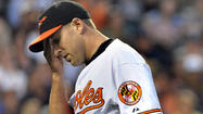 Orioles right-hander Brad Bergesen designated for assignment