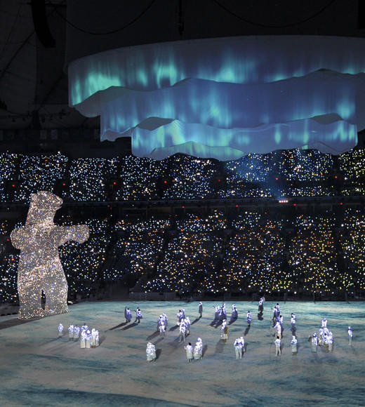 Olympic Games: Opening ceremonies throughout the years: Vancouver