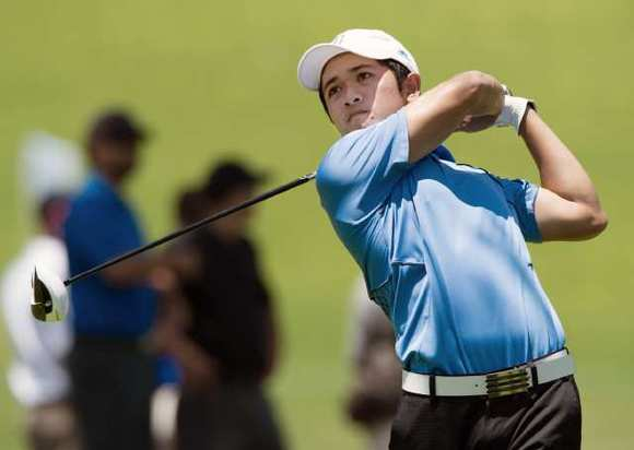 Former La Cañada High standout, current UCLA Bruin Anton Arboleda  fell Thursday in the round of 16 in the United States Public Links Championship at Soldier Hollow Golf Course in Midway, Utah.