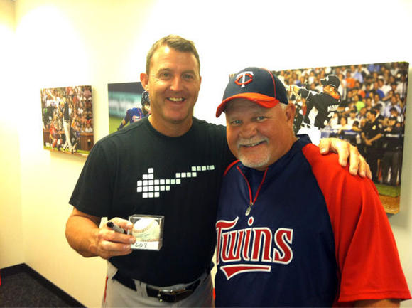 Jim Thome, Ron Gardenhire