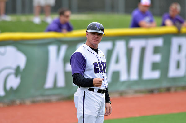 John Szefc, who was a hitting coach at Kansas State (above), was hired to take over the Maryland baseball team.