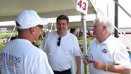 Blaine Young, Larry Hogan, Terry Baker