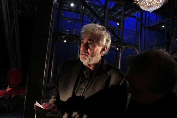 Placido Domingo at the Dorothy Chandler Pavilion in 2011.