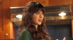 "Actress in a Comedy Series - Zooey Deschanel, ""New Girl"""