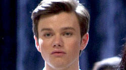 "Supporting actor in a comedy - Chris Colfer, ""Glee"""