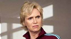 "Supporting actress in a comedy - Jane Lynch, ""Glee"""