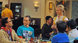 Comedy series - 'The Big Bang Theory'