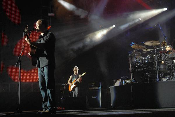 In 2008, the Dave Matthews Band performed its traditional two-night stand at the Cruzan Amphitheatre. It returns to the venue July 20 and July 21.